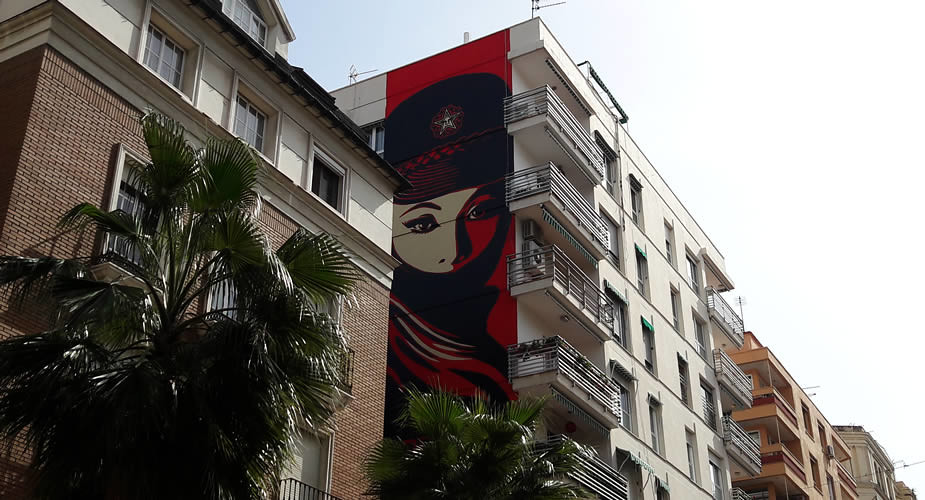 Street art in Malaga, bekijk de tips | Mooistestedentrips.nl