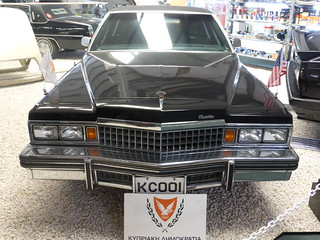 1977 Cadillac Fleetwood built for President Makarios III
