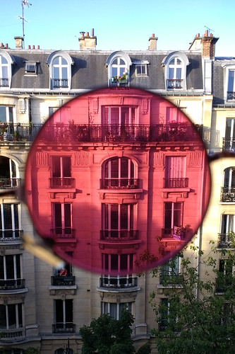 Pink Glass View