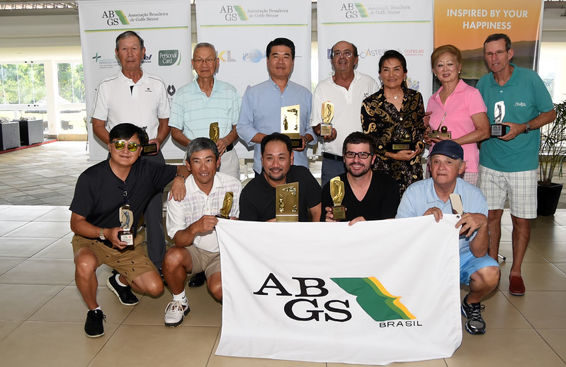 11º Torneio ABGS Golfe Sênior do Arujá Golf Clube - Taça Tsutomu Takano