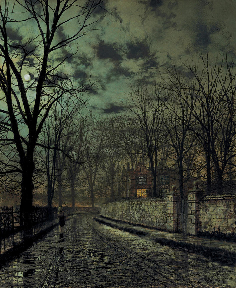 November by John Atkinson Grimshaw, 1879