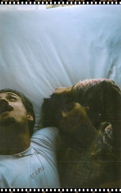Roberto Ruiz y María Bernad