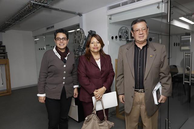 Visita embajador de Bolivia