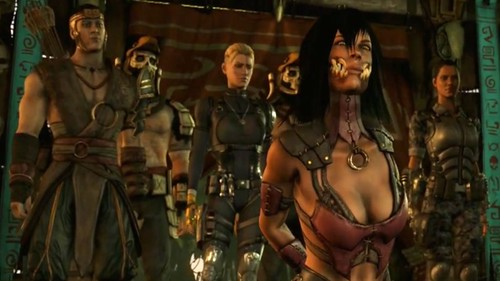 Mortal Kombat X - Mileena, Cassie Cage, Jacqui Briggs & Kung Jin 01 (1080p)
