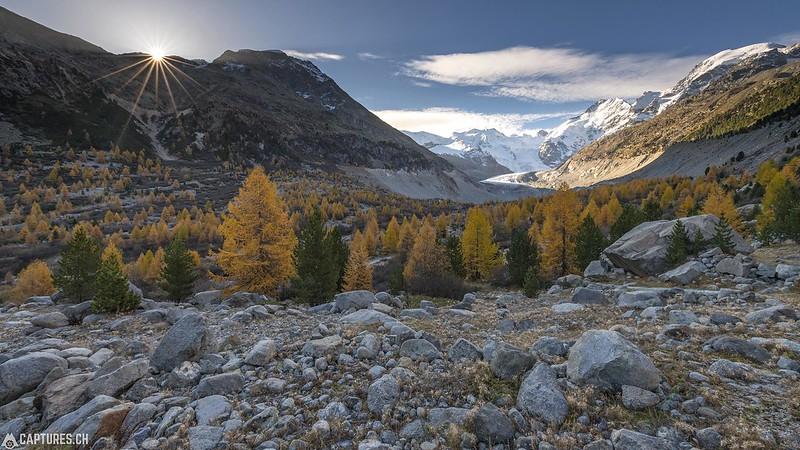 Sunrise - Val Morteratsch