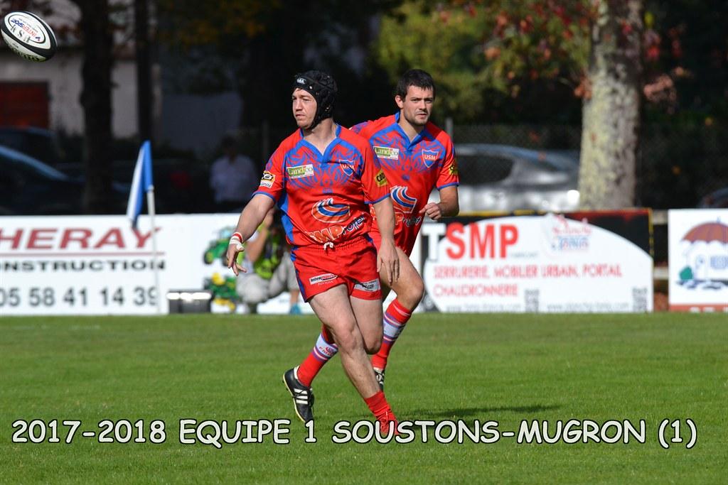 2017-2018 SENIORS 1 SOUSTONS - MUGRON