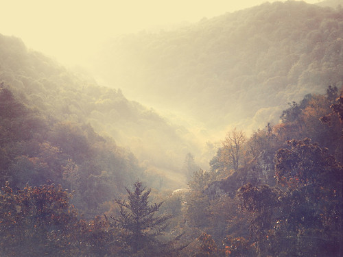 Covadonga mountains in the mist the photo app Stackables