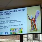 Exposition Livres d`artistes médiathèque Beauvais P1070787