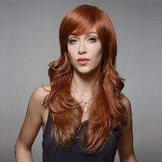 Elegant Wave Human Hair Wig Capless Virgin Remy Curly Side Bang Mono Top 8 Colors 60cm (1063430) #Banggood