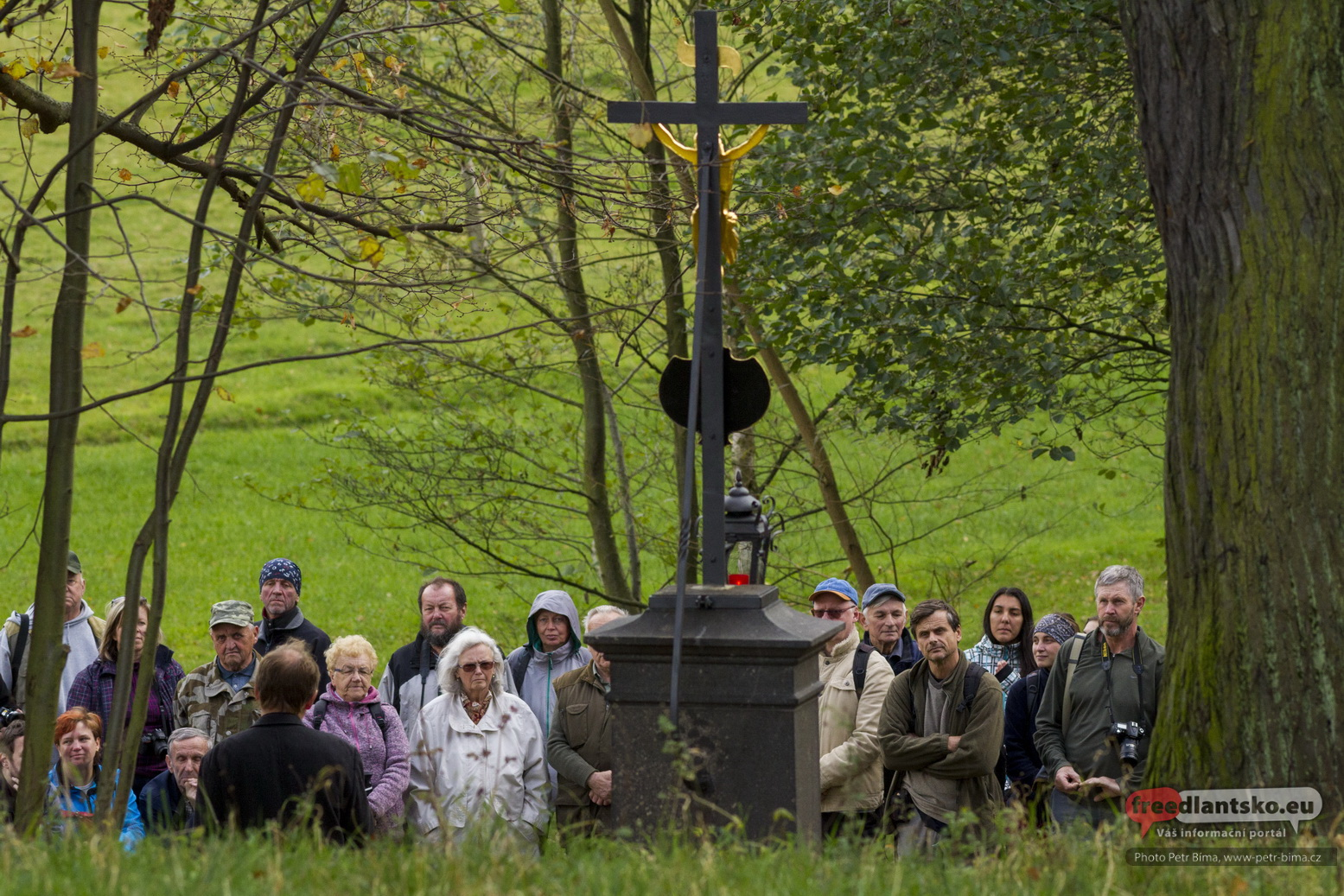 Slavnost k obnově pomníku sedmileté války v Raspenavě - Luhu