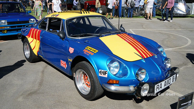 1976 Renault Alpine A110B at Red White and Blue theme Art Center Car Classic 2017
