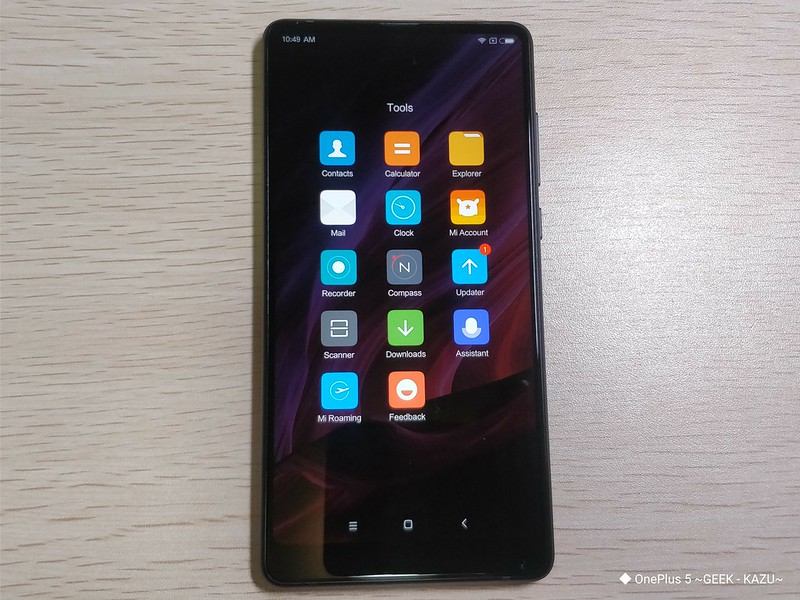 Xiaomi mi mix 2 開封レビュー (33)