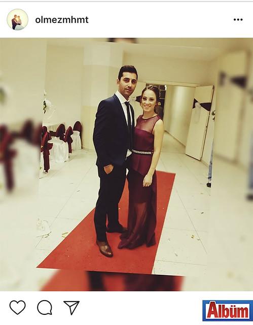 Mehmet Ölmez ve eşi Eda Ölmez, katıldıkları düğün töreninde şıklıkları ile dikkat çekti.
