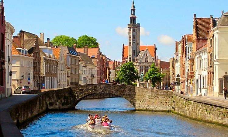 Bruges beautiful Belgium city