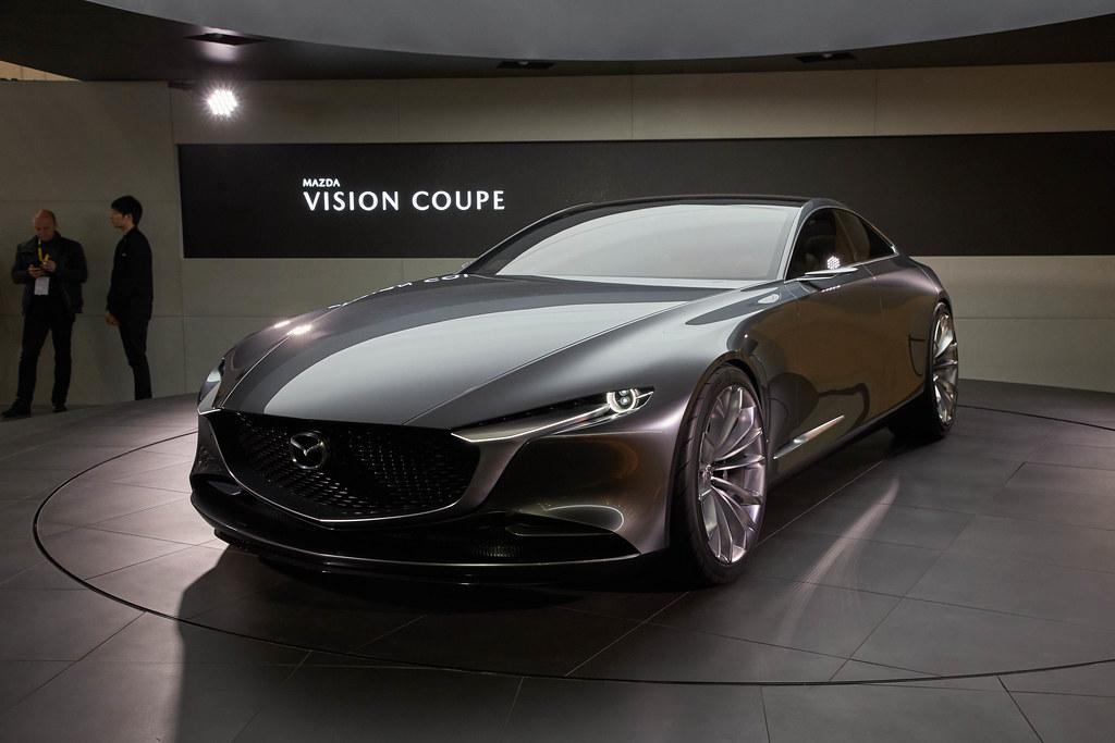 Mazda Vision Concept live photos: 2017 Tokyo Motor Show
