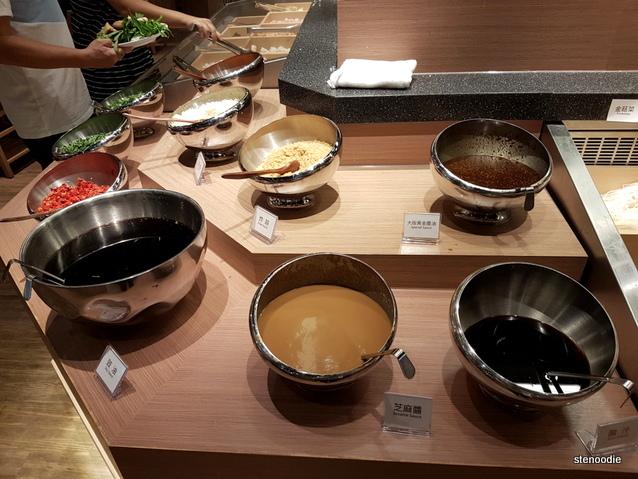 Gyujin Shabu Shabu & Sukiyaki condiments