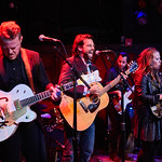 Thu, 14/09/2017 - 5:14am - The Lone Bellow (Zach Williams; Kanene Donehey Pipkin; Brian Elmquist) perform for WFUV Public Radio at Rockwood Music Hall in New York City, 9/14/17. Hosted by Rita Houston. Photo by Gus Philippas/WFUV