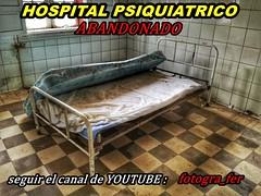 Terrible Hospital Psiquiatrico Abandonado