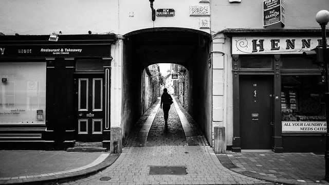 Kilkenny - Ireland - Black and white street photography