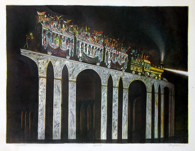 Joseph Mugnaini - Carnival,  1955