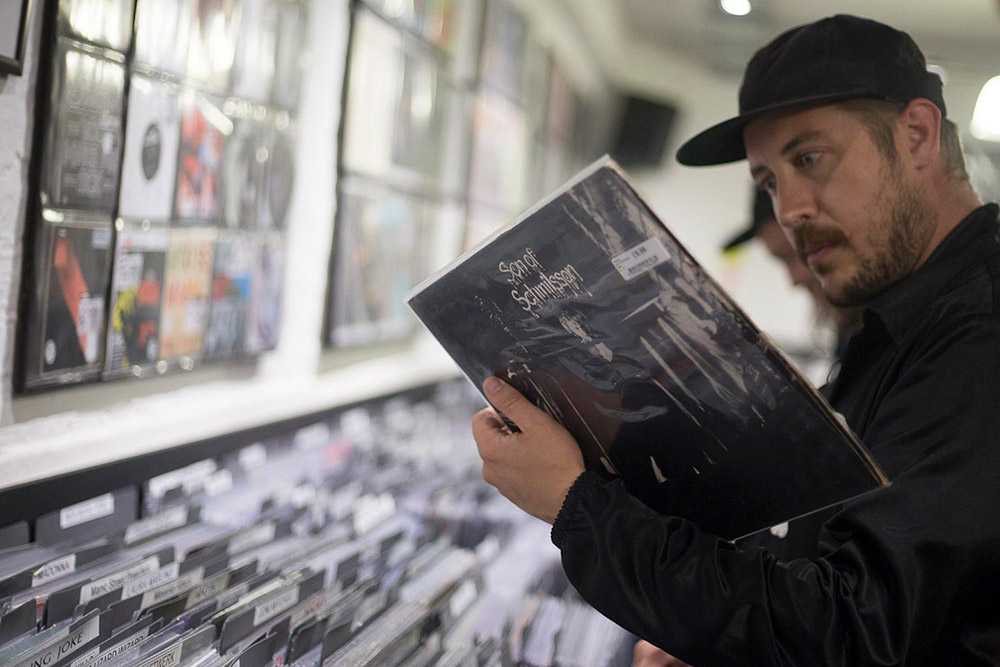 Record Shopping with Portugal. The Man