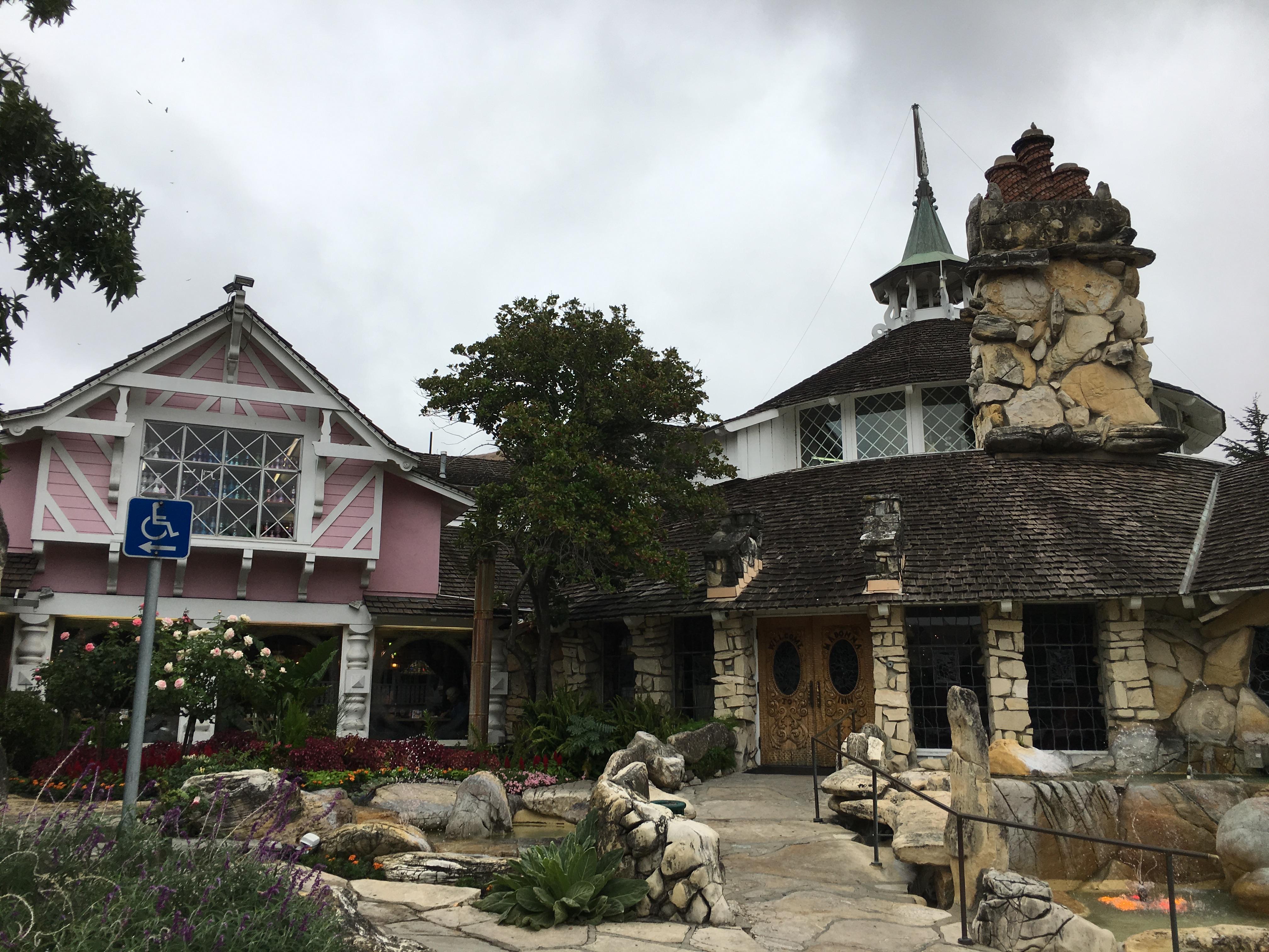 Madonna Inn - exterior