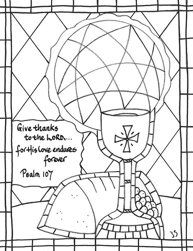 Psalm 107 coloring