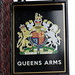 Queens Arms pub sign Patricroft Greater Manchester UK