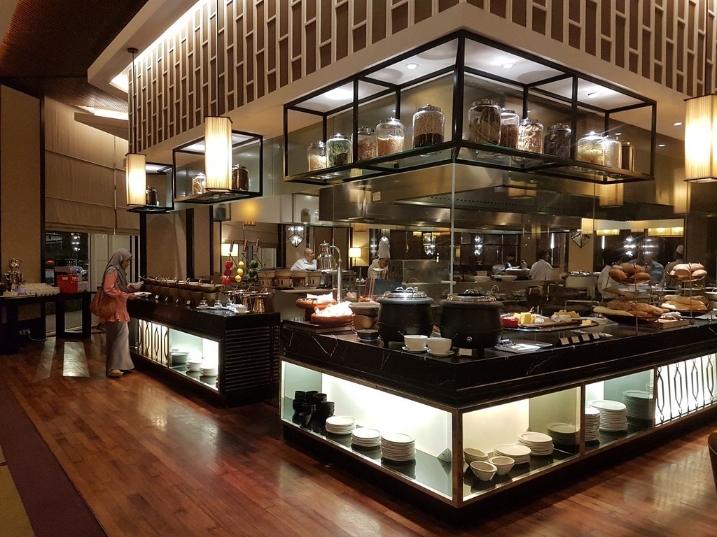 Buffet at Majestic Hotel KL