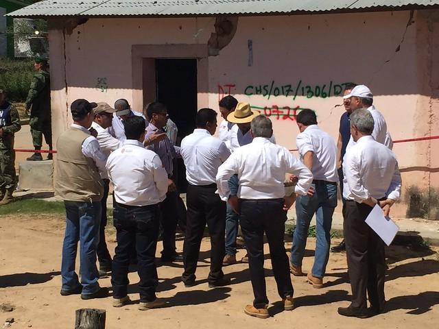 15 de Septiembre de 2017 Implementará STPS programa de empleo para damnificados en Chiapas