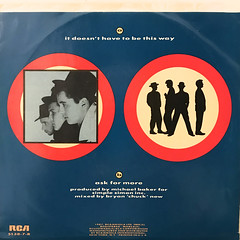 THE BLOW MONKEYS:IT DOESN'T HAVE TO BE THIS WAY(JACKET B)