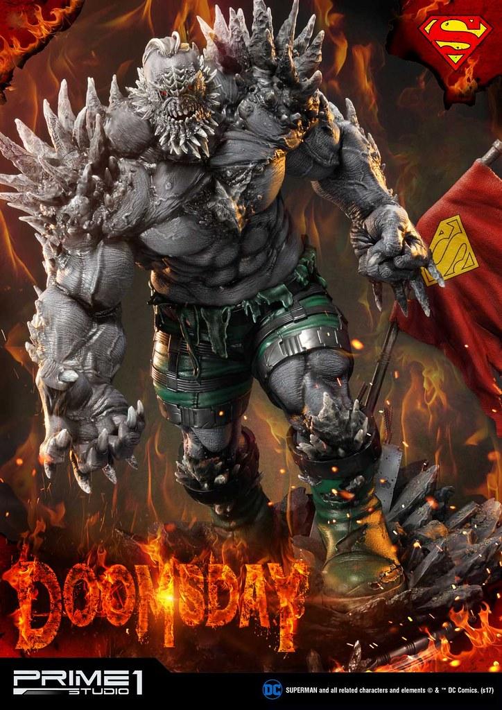 超人最可怕的反派之一!! Prime 1 Studio DC Comics【毀滅日】Doomsday ドゥームズデイ MMDC-28EX 1/3 比例全身雕像作品