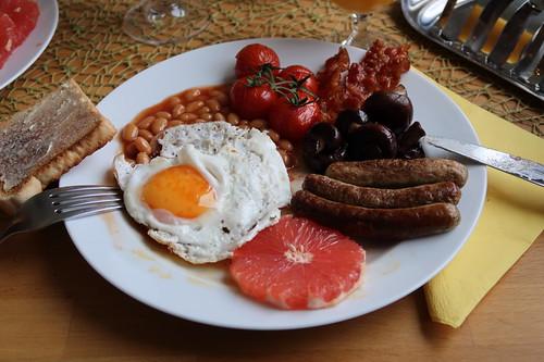 Englisches Frühstück (mein 2. Teller)