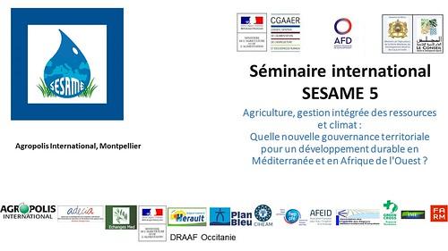 5ème séminaire international SESAME, Montpellier