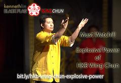 Black Flag Wing Chun Kung Fu Internal Power Demonstration