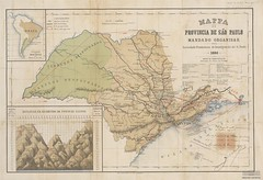 Mapa da Província de São Paulo, 1886
