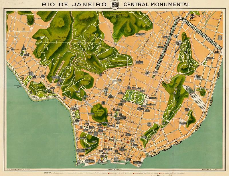 Carlos Aenishanslin - Rio De Janeiro Central Monumental (c.1914)