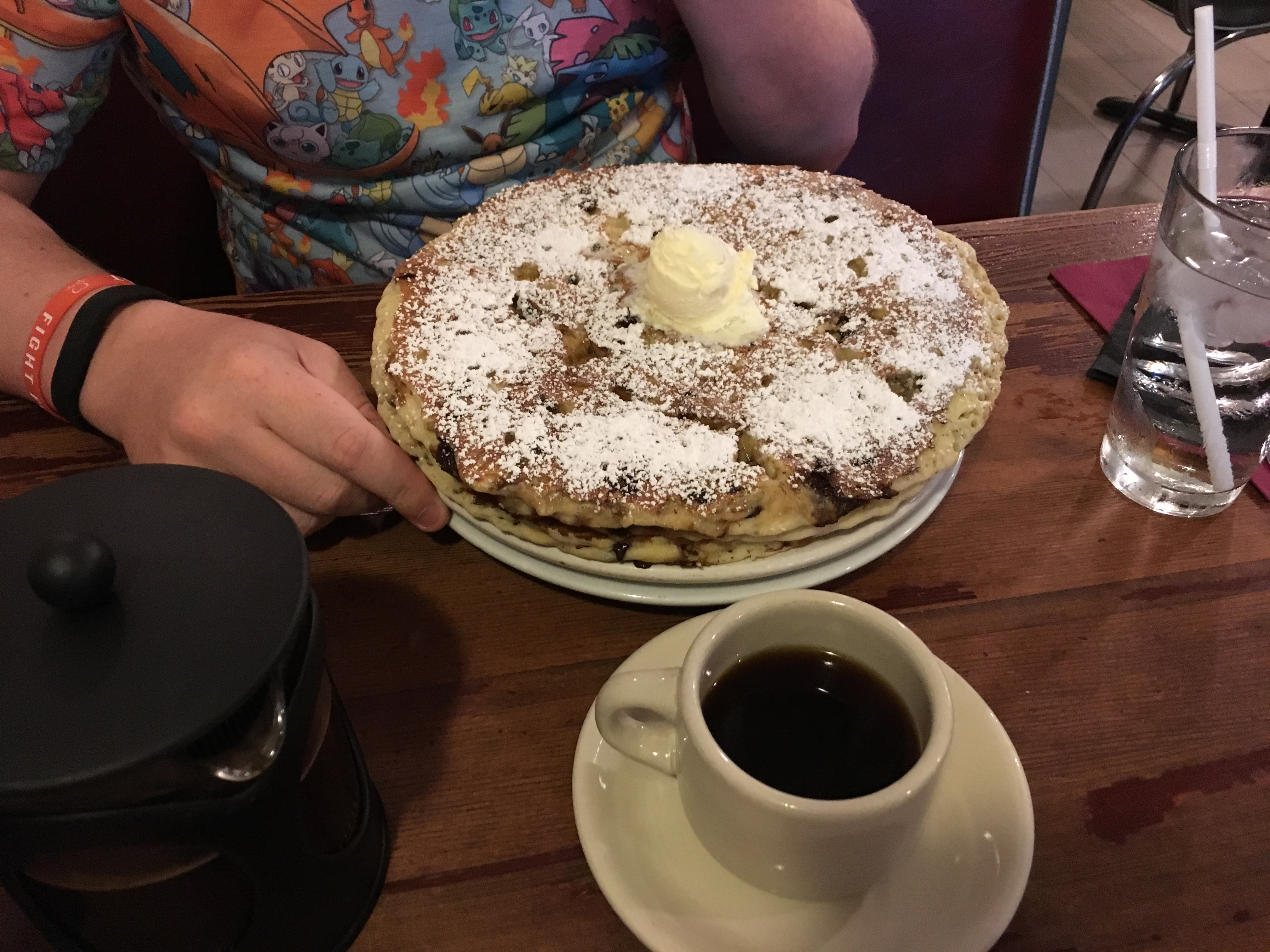 Los Angeles Food - coffee pancakes