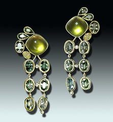 """Vendanges"" Earrings"