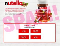 Nutella-Probierpaket