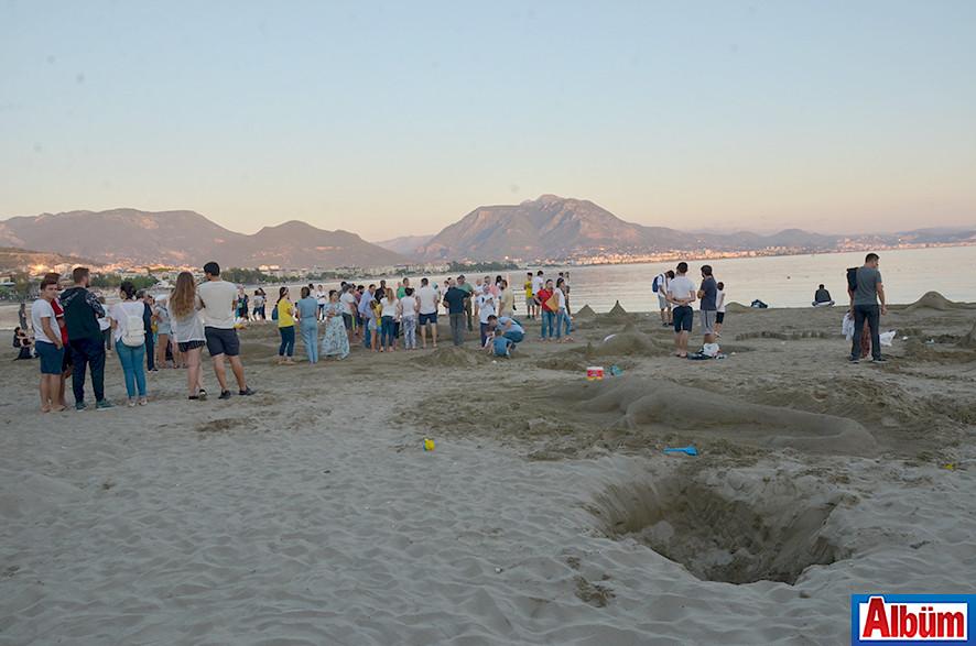 'Kumdan Heykel Yarışması' -10