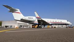 Executive Jet Management Gulfstream G550 N324K