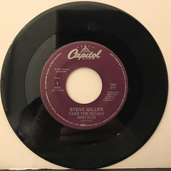 STEVE MILLER:TAKE THE MONEY AND RUN(RECORD SIDE-A)