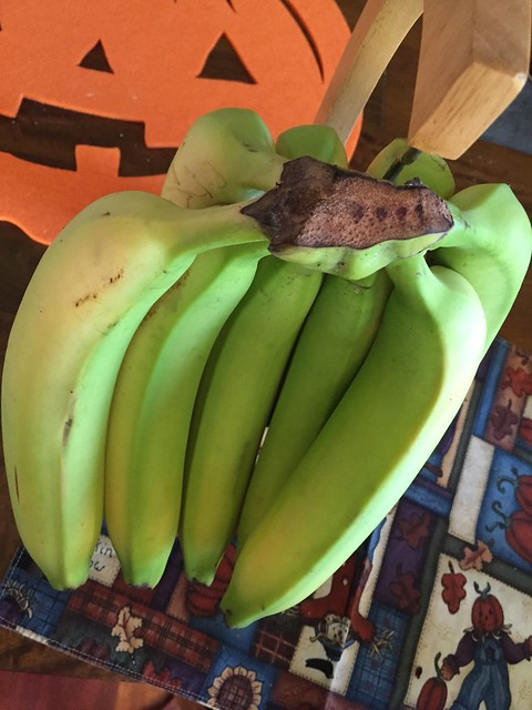 9 bananas in a bunch