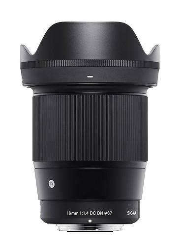 Sigma dévoile le nouvel objectif 16mm f/1,4 DC DN pour les boîtiers sans miroir Sony et Micro 4/3