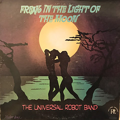 THE UNIVERSAL ROBOT BAND:FREAK IN THE LIGHT OF THE MOON(JACKET A)