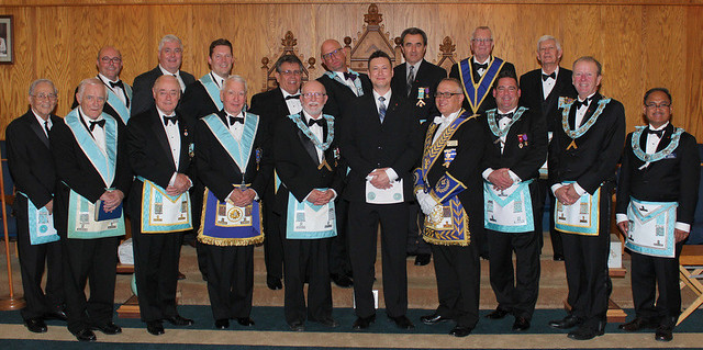2017 10 12  Official Visit to Trafalgar Lodge No. 712