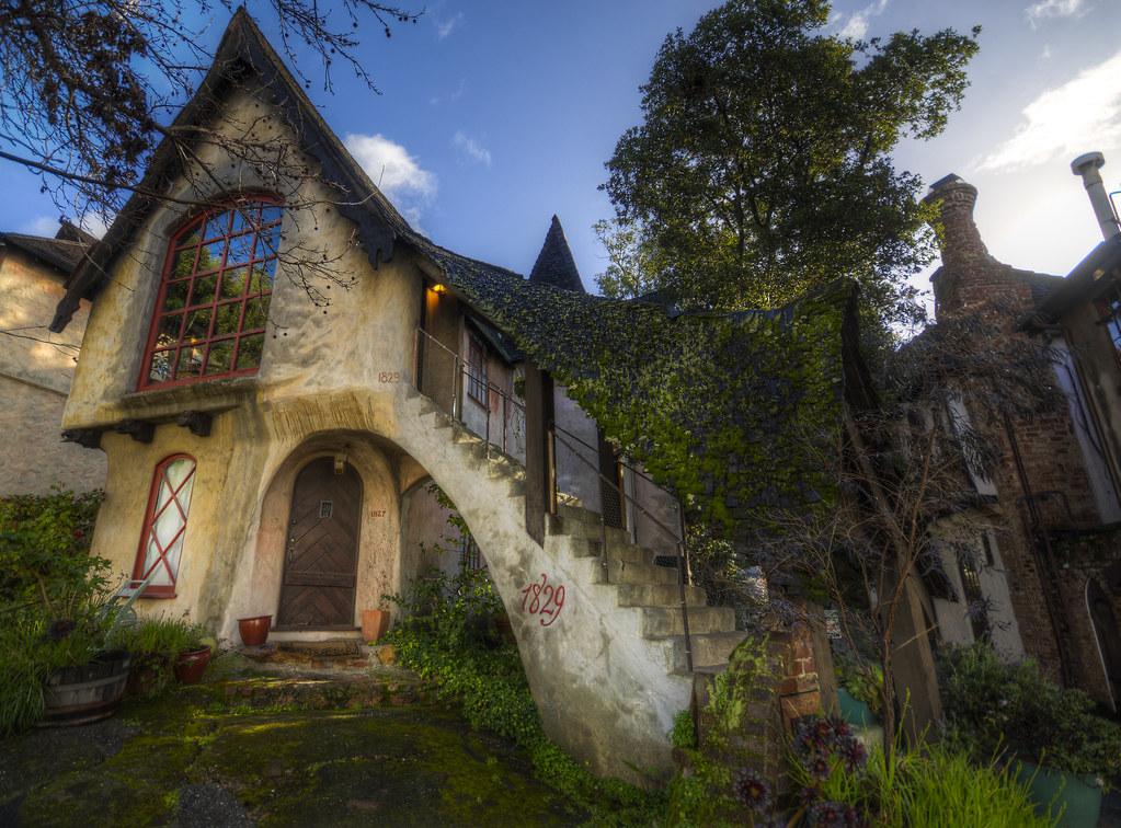 Normandy Village on Sunday Morning