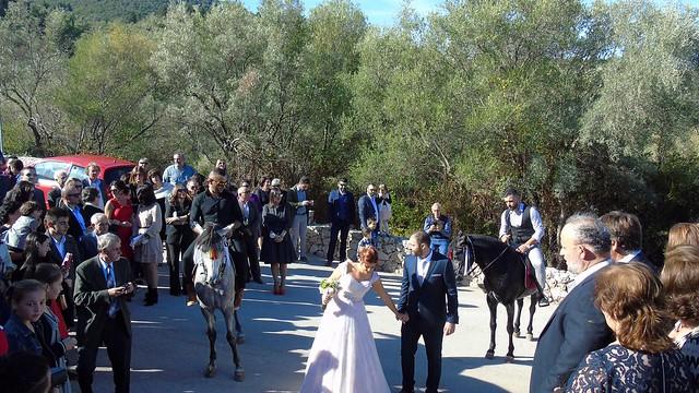 Γάμος Νώντα Μωραΐτη + Νατάσας Φούρου