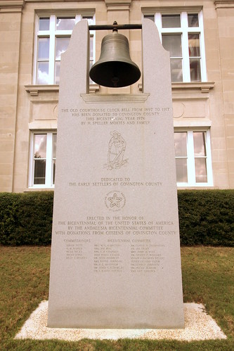Old Covington County Courthouse Bell - Andalusia, AL